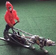 "Action Man Polar Mission Arctic Wolf, Sledge Sleigh & 12"" Figure Hasbro 1999"