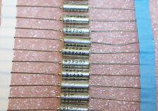 QTY (10) 22uf 15V 10% MIL-SPEC AXIAL TANTALUM CAPACITORS M39003/01-2271 KEMET