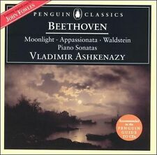 Beethoven: Moonlight, Appassionata & Waldstein Piano Sonatas (CD) Ashkenazy