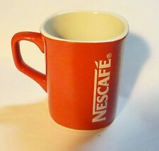"NESCAFE COFFEE Red Mug Cup from MALAYSIA Promotional Standard 3.5"" Tall Nestle"