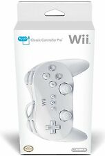 Official NINTENDO -=- Wii Classic Controller Pro (RVLAR2W) -=- NEW sealed in BOX