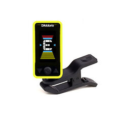 Planet Waves Eclipse Clip-On Chromatic Headstock Guitar Bass String Tuner Yellow