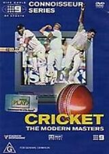 CRICKET: THE MODERN MASTERS – DVD, CONNOISSEUR SERIES, 105 MINUTES