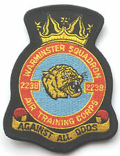 RAF No.2238 Warminster Squadron Air Training Corps Royal Air Force Embroidered