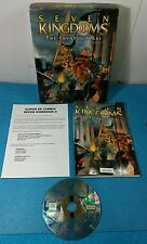 JUEGO PC CD-ROM CAJA GRANDE CASTELLANO - SEVEN KINGDOMS II 2 THE FRYHTAN WARS