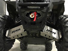 2011-2014 POLARIS RZR 800 1/8 ALUMINUM FRONT A-ARM GUARD SKID PLATES USA MADE