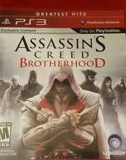 Assassin's Creed: Brotherhood (Sony PlayStation 3, 2010)COMPLETE W MANUAL