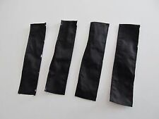 DCP 1/64 SCALE CLOTH TARP TO FIT GRAIN TRAILER BLACK (SET OF 4)