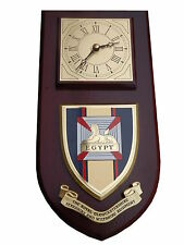 RGBW Royal Gloucestershire Berkshire and Wiltshire Wall Plaque & Clock