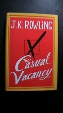 The Casual Vacancy by J.K. Rowling 1st Hardback w/ Dust Jacket