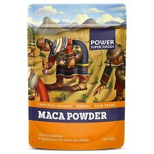 Power Super Foods Organic Maca Powder Natural Raw Pure Health 250g Free Shipping