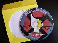 MetaMaus CD-Rom passionnant sur la génèse d'une BD : Maus de Art Spiegelman