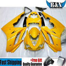 Yellow Fairing Kits for Triumph Daytona 675 2006-2008 2007 ABS Plastic Injection