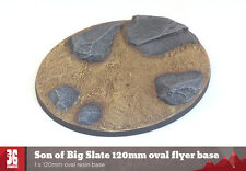 Son of Big Slate 1 x 120mm oval resin base