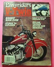 EASYRIDERS  V-TWIN EDITION MAGAZINE  DEC/1994..HARLEY'S POPULAR WIDE-GLIDE DYNA