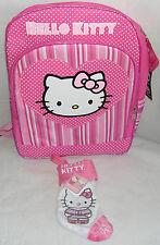 Hello Kitty BACKPACK & PINK MINI CHRISTMAS STOCKING FREE USA SHIPPING