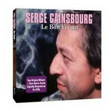 Serge Gainsbourg Du Chant A La Une!/No2 2-CD+Bonus Tracks NEW SEALED Remastered