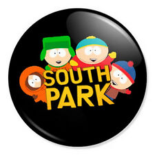 "South Park - Logo 25mm 1"" Pin Badge Button Kyle Stan Kenny Cartman Pop Artwork"