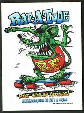 Rat-A-Tude STICKER Decal Ed Big Daddy Roth Rat Fink RF16A