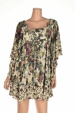 Free People Heart Of Gold Flutter-Sleeve F Tea Combo S