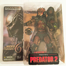 "McFarlane Movie Maniacs Predator 2 Series 6 Action Figure 7"" NRFB NIB"