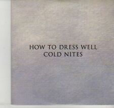 (DI524) How To Dress Well, Cold Nites - 2012 DJ CD