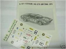 "FERRARI 308 ""DAYTONA"" 1978 1/43 DECALS"