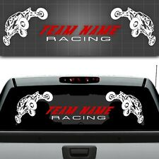 "Sand Rail Trailer Graphic,Personalized Sand Rail Sticker,Trailer Decal - 12""x48"""