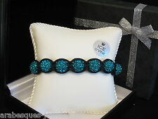 TOP QUALITY ICE D'VINE SHAMBALLA PARIS BRACELET JADE GENUINE CRYSTAL. GIFT BOXED