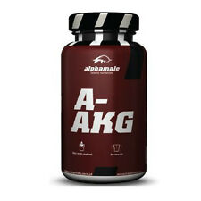 Alpha Male AAKG L-Arginine 200g Powder NO Nitrix Oxide Booster Muscle Pump Gain
