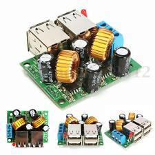 STEP DOWN 5A CONVERTITORE REGOLABILE DC 12V 24V 40V to 5V USB ALIMENTATORE