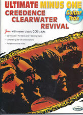 CREEDENCE CLEARWATER REVIVAL-ULTIMATE MINUS ONE GUITAR-TAB MUSIC BOOK/CD NEW CCR