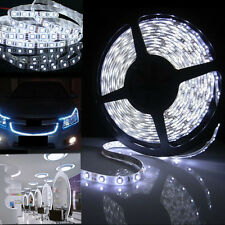 5M 3528 600LED 12V Waterproof SMD LED Flexible Strip Light White + connector