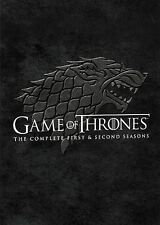 Game of Thrones The Complete First 1st & 2nd Second Seasons DVD 2014 10-Disc Set