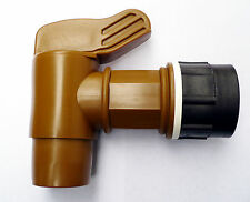 "IBC ADAPTER TO  JUMBO POLYETHYLENE DRUM TAP. 2"" High Flow Solvents Diesel Water"