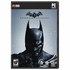 Batman: Arkham Origins - PC DVD *NEW*