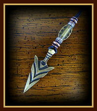 "ARROWHEAD Jewelry Pendant repro 1-3/4"" Indian style Arrow - Florida State U."