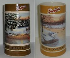 2012 AND 2013 LEINENKUGEL'S HOLIDAY STEINS --- TWO MUGS (2nd and 3rd in series)