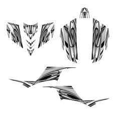 KFX 700 graphics ATV sticker kit for Kawasaki KFX700 NO1200 metal