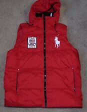 NWT Men's Polo Ralph Lauren B&T Big Pony Puffer Alpine Jacket Size LT
