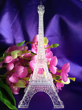 "9""Multi-Color Eiffel Tower Desk Cake Topper Bedroom LED Lamp Wedding Centerpiece"