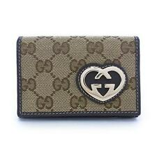 Authentic GUCCI Card Case 245730 FAFXG  #246-000-096-3688