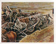 Soldiers Chuckwagon Swamp Romania War Deutsches Heer WWI WELTKRIEG 1918 CHROMO