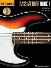 Hal Leonard Electric Bass Method Bk. 1 by Ed Friedland (1996, CD / Paperback,...