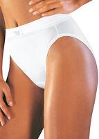 Sloggi Double Comfort Tai Brief, Knicker. White or Black, Cotton, sizes 10-20
