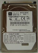 Toshiba MK2018GAP HDD2164 12 in stock 20GB 2.5in IDE Drive Tested Good Warranty