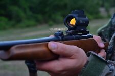 Russian red dot sight Pilad VOMZ 1x25 weaver closed collimator+free CR2032 batt.