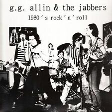 LP G.G ALLIN AND THE JABBERS 1980's Rock'n'Roll