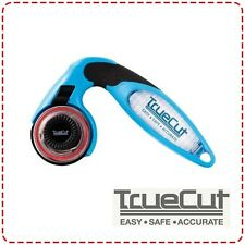 TrueCut My Comfort Cutter 45mm - Ergonomic Rotary Cutter, Left and Right Handed