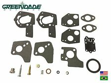 CARBURETOR OVERHAUL KIT REPLACES OEM B&S 495606 494624 OREGON 49-078,520-52 22
